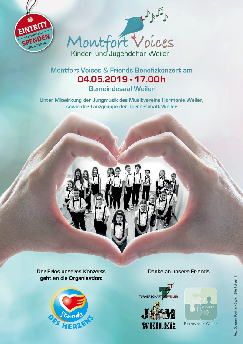 Montfort Voices & Friends Benefizkonzert